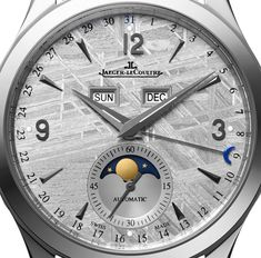 Jaeger LeCoultre Master Calendar Meteorite Dial Watch To Debut At SIHH 2015   watch releases