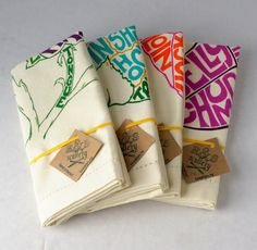 One Good Find: Vegetable Chart Kitchen Towels   SAVEUR