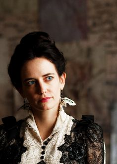 "Eva Green at ""Penny Dreadful"" Penny Dreadful Tv Series, Eva Green Penny Dreadful, Penny Dreadfull, Actress Eva Green, Aesthetic Doctor, Showtime Series, Miss Peregrine, First Tv, Harry Potter Characters"