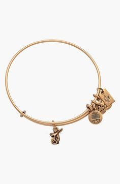 Alex and Ani Horse Saddle Expandable Wire Bangle available at #Nordstrom