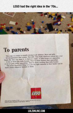 THANK YOU LEGO