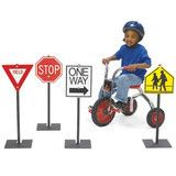Angeles® Traffic Signs Set 1 | Honor Roll Childcare Supply