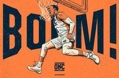 Oklahoma City Thunder Re-Brand on Behance