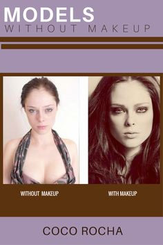 """MODELS WITHOUT MAKEUP - Coco Rocha, supermodel and activist may have been a little tired in her """"without makeup"""" photo, but the Canadian stunner looks great no matter how much sleep she's gotten the night before the shoot. Models Without Makeup, Sleeping Too Much, The Night Before, Photo Makeup, Models Off Duty, Supermodels, Tired, Looks Great, Coco Rocha"""