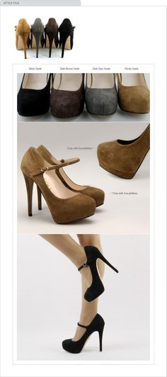 Want theses but it's been a long time since I had heels mmm