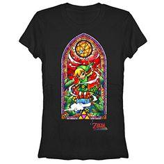 Nintendo Legend of Zelda Wind Waker Window Juniors M Graphic T Shirt - Fifth Sun @ niftywarehouse.com #NiftyWarehouse #Geek #Zelda #Products #LegendOfZelda #Nintendo