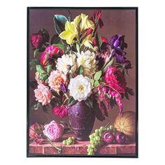 Κάδρο Διακοσμητικό Χάρτινο Βάζο με Λουλούδια 28.5x38.3 cm Floral Wreath, Wreaths, Plants, Painting, Home Decor, Art, Art Background, Floral Crown, Decoration Home