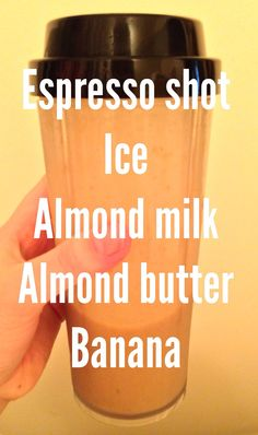Coffee smoothie -