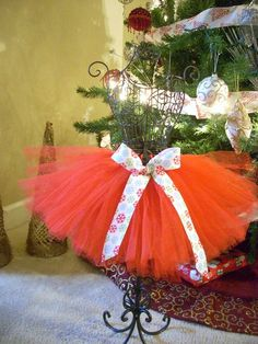 Christmas tutu by TouchdownTutus on Etsy, $19.00