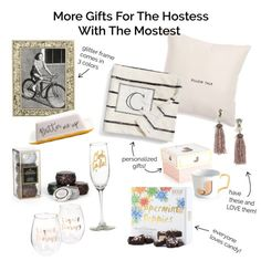 Gift Guide for hostess gifts, and home!
