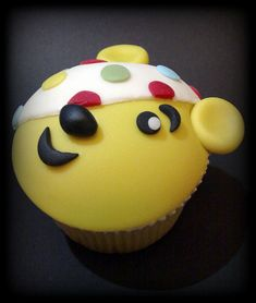 Pudsey Bear Cupcake | Flickr - Photo Sharing!