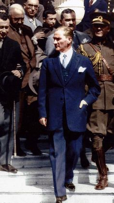 of Ataturk& Most Charismatic and Stylish Men in the World - Adeline Butler - Turkish People, Turkish Army, The Turk, Bae, Great Leaders, World Leaders, Historical Pictures, The Republic, Revolutionaries