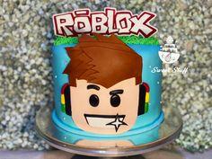 Roblox Inspired #sweetstuffbynicacakes #roblox #fondantcake Cakes For Boys, Fondant, Birthday Cake, Inspired, Sweet, Candy, Fondant Icing, Birthday Cakes, Birthday Cookies