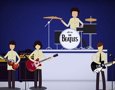 """Check out new work on my @Behance portfolio: """"The Beatles - Shea Stadium"""" http://be.net/gallery/54562205/The-Beatles-Shea-Stadium"""