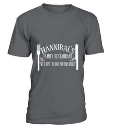 Family Restaurant - Hannibal Lecter  #september #august #shirt #gift #ideas #photo #image #gift
