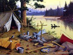 Camping idyll