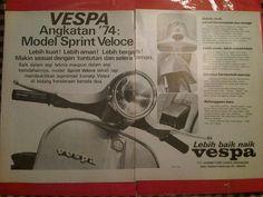 1974's Vespa Px, Piaggio Vespa, Vespa Scooters, Vintage Vespa, Vintage Ads, Print Ads, Gay, Advertising, Logo