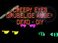 Gruselige Augen | Ich mach jetzt... - DIY Creepy Eyes - Halloween Deko selber machen - Basteln für Halloween