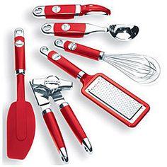 KitchenAid 6-piece Red Tool Set