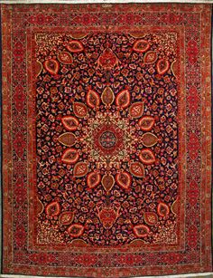 "Tabriz Persian Rug, Buy Handmade Tabriz Persian Rug 10' 0"" x 13' 3"", Authentic Persian Rug"