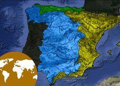 La Eduteca - Las vertientes fluviales de España.