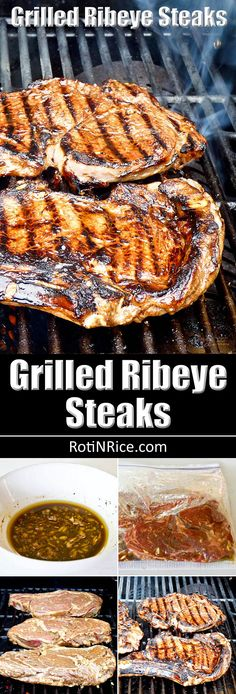 Grilled New York Strip Steaks with Homemade Spice Rub ...