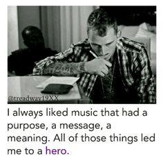 Led me to a hero<3