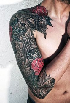 51 Best Rose Tattoos For Men Images Rose Tattoos For Men Tattoo