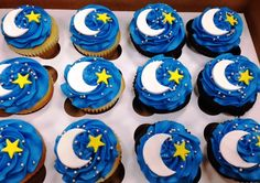Creative Memories The Sweet Spot Bakery 9-26-15 Moon and Stars Cupcakes