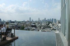 テラスからの眺めが最高に気持ち良い青山のレストラン「TWO ROOMS Grill Bar」から新宿の高層ビル郡を望む - 俺の遺言を聴いてほしい