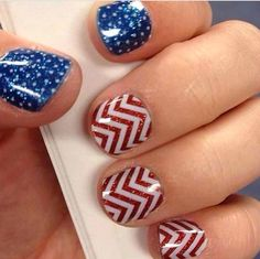 Jamberry Clear Chevron and Clear Polka layered over solid wraps