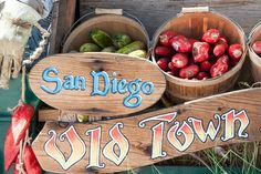Old Town is a must see and must eat stop when in San Diego, California.