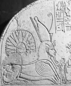 Hauron - Originally a desert deity from Lebanon, a form of Baal identified with the Assyrian war-god Ninurta. He was identified with the Great Sphinx and worshiped as a solar deity.