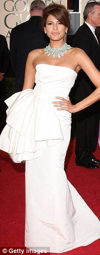 Still one of my all time favorite Golden Globes looks..Eva Mendes in Dior