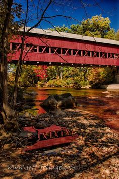 Scenic fall colors along Route 16 in New Hampshire's white mountains. From Lake Chocorua to the foot of Mount Washington and the auto road to the top, explore route 16.