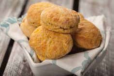 Our guilt-free Pumpkin Biscuits deliver the same rich, buttery taste of the classic pastry without breaking your calorie bank!