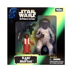 STAR WARS FIGURINE FIGURE KENNER 1998 POWER OF THE FORCE KABE /& MUFTAK MINT MOC