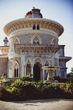 Monserrate Palace, Sintra, Portugal    #architecture #beautiful #portugal #palace #travel #discover #sintra