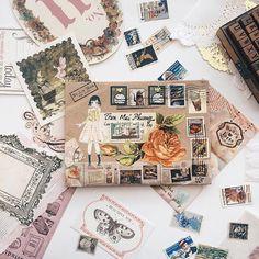 Mail Art Envelopes, Snail Mail Pen Pals, Paper Art, Paper Crafts, Pretty Letters, Pen Pal Letters, Fun Mail, Decorated Envelopes, Envelope Art
