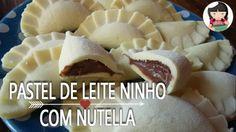 Pastel de Leite Ninho e Nutella   Dika da Naka
