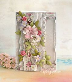 Бумагопластика. Цветы для открыток ручной работы (28) (528x600, 209Kb)