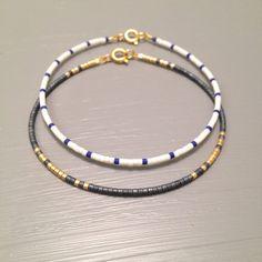 Bracelet Bracelet perlé envelopper de perle perles graines été
