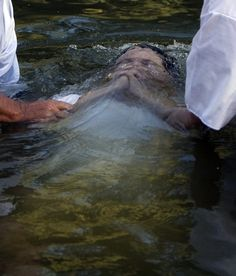To be baptized in the Jordan River...