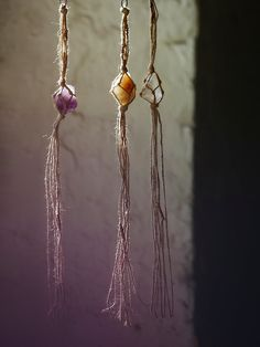 Free People Hanging Crystals, �58.00 Are you thinking what I'm thinking?
