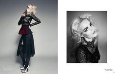 'Rosa Bianca' Nikki Sikkema by Federica Putelli for Schön! [Editorial] - Fashion Copious