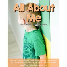 Preschool Unit Lesson Plans - All About Me Unit