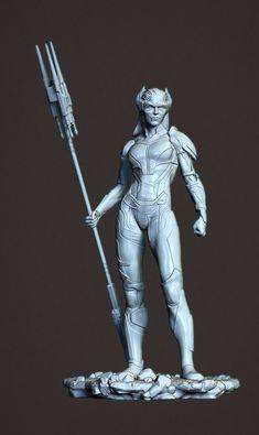 ArtStation - Proxima Midnight - Black Order Thanos, Mitchell Klingler Zbrush, Proxima Midnight, Black Order, Modeling, Templates