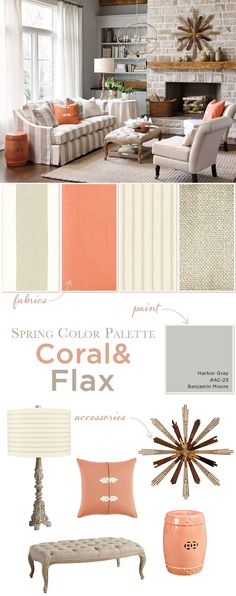 Bring spring's trending coral color into your home