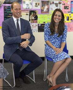 """hrhduchesskate:  """"Heads Together"""" Campaign at Stewards Academy, Harlow, Essex, September 16, 2016-Duke and Duchess of Cambridge chat with parents of students at Stewards Academy during a visit to promote the """"Heads Together"""" campaign to discuss mental health"""
