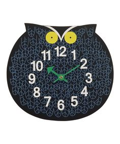 Owl Zoo Timer Wall Clock